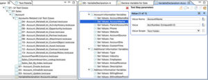 Image showing how to change the Value Scope of the variable after creating a setup test case