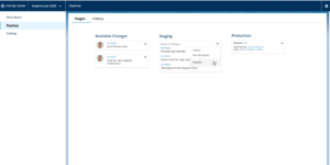 Salesforce DevOps Center - Promoting all staged changes to production in one action.