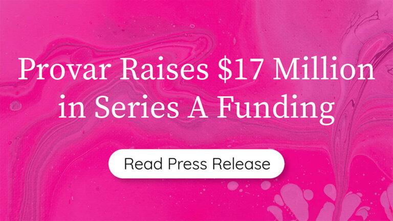 Provar Funding Announcement